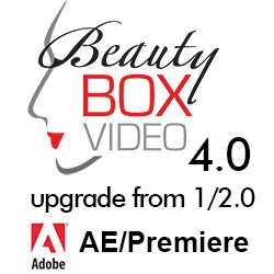 Beauty Box Video 4.0 Upgrade From 1.0/2.0 for Adobe After Effects or Premiere