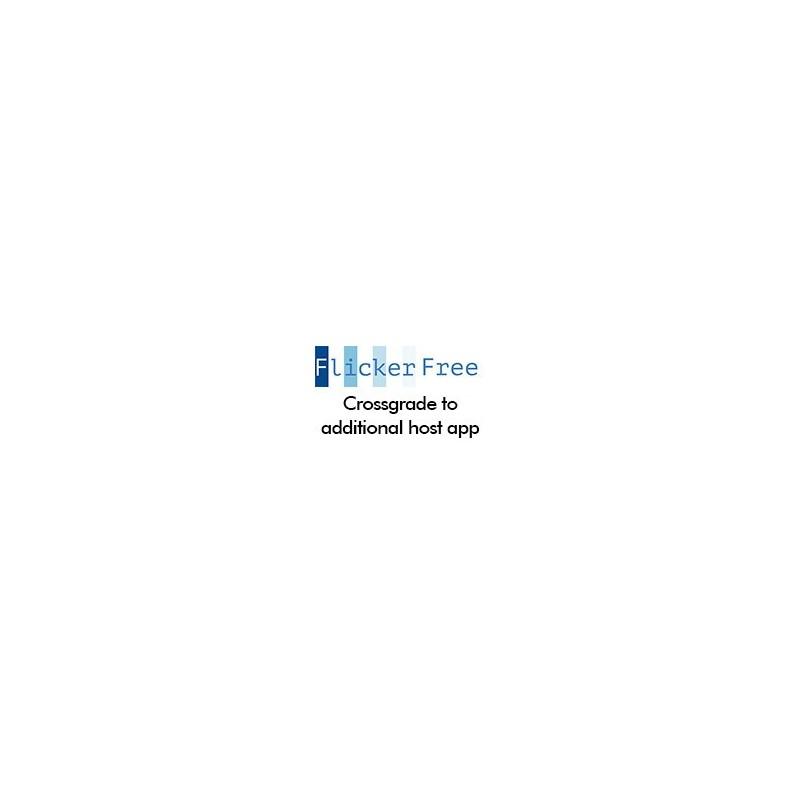 Flicker Free Crossgrade to Additional Host Application