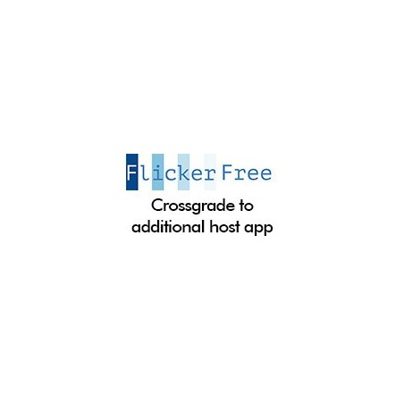 Flicker Free Crossgrade to Additional Host App
