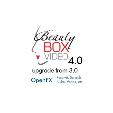 Beauty Box Video 4.0 Upgrade From 3.0 for OpenFX (Scratch, Resolve, Nuke, Vegas)