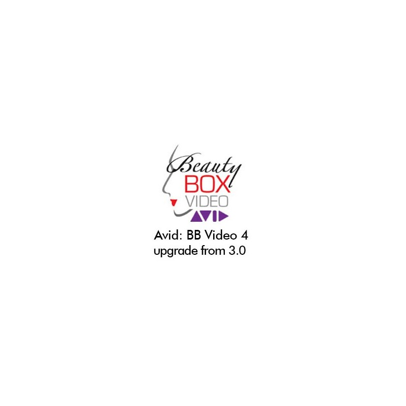 Beauty Box Video 4.0 for AVID: 3.0 to 4.0 Upgrade