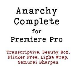Anarchy Complete Video Bundle for Premiere Pro