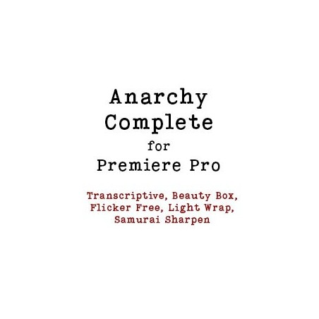 Anarchy Complete Video Bundle for Premiere Pro