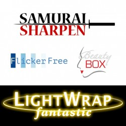 Anarchy Video Bundle : Beauty Box, Flicker Free, Samurai Sharpen, Light Wrap Fantastic