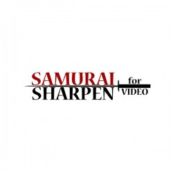 Samurai Sharpen for Video - Powerful, Simple Sharpening for HD, 4K, and More.