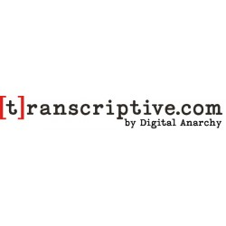Transcriptive.com One Year Subscription - On Sale!  (not for Premiere)