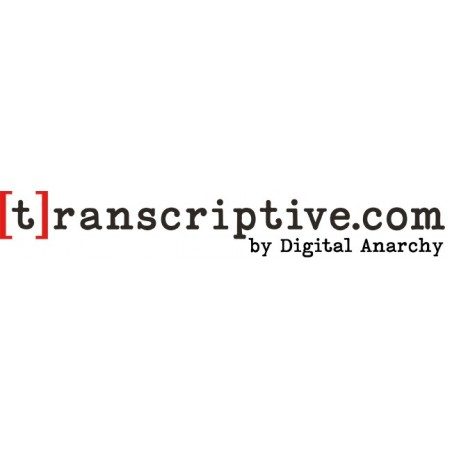 Transcriptive.com One Year Subscription - (Web only, not a Premiere license)